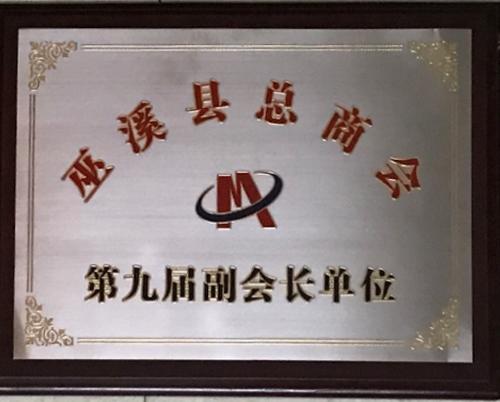 巫溪县总商会第九届副会长单位